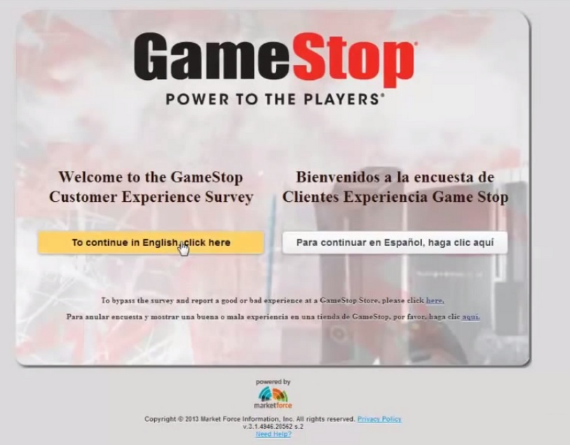 tellgamestop-customer-experience-survey-step1