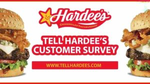 hardees survey