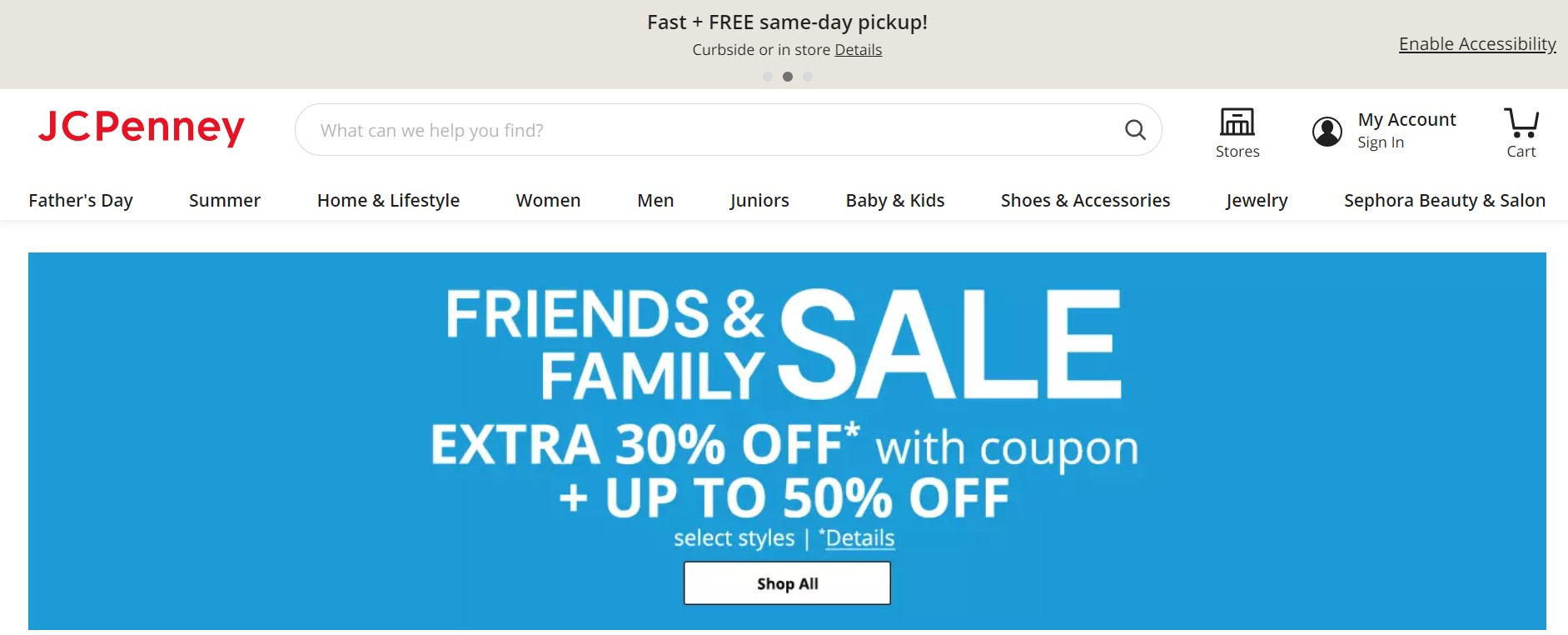 JCPenny Homepage @ jcpenny.com