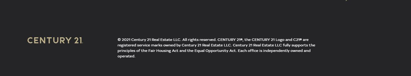 Century 21 Login About and Terms